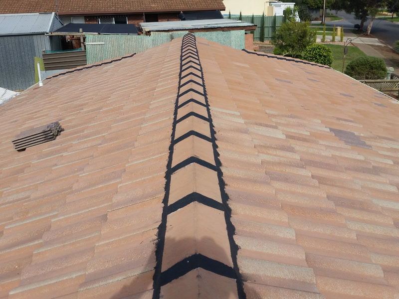 Rebedding Repointing Roof Tiles Adelaide